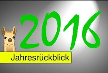 Jahresrückblick 2016 / SpieLama
