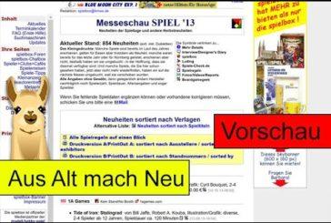 spielbox-Neuheitenlisten auf spielen.de / SpieLama