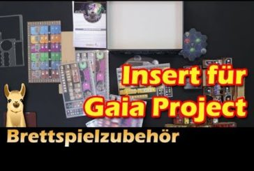 ►Gaia Project Insert (ADC Blackfire) / Brettspielzubehör - Folge 22 / SpieLama