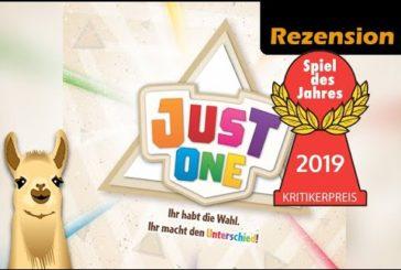 ► Just One / Spiel des Jahres 2019 / Anleitung & Rezension / SpieLama