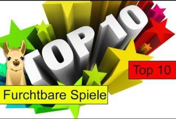 Furchtbare Spiele / Top 10 / SpieLama / Brettspiele & mehr