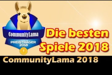 CommunityLama 2018 / Die besten Brettspiele des Jahres / Top 10 / SpieLama