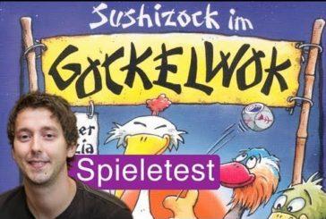 Sushizock im Gockelwok (Würfelspiel) / Anleitung & Rezension / SpieLama