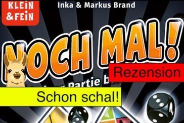 Noch mal! (Würfelspiel) / Anleitung & Rezension / SpieLama
