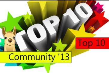 CommunityLama 2013 / Die besten Brettspiele des Jahres / Top 10 / SpieLama