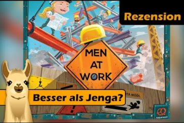 ► Men at Work  / Brettspiel - Deutsch / Rezension / SpieLama