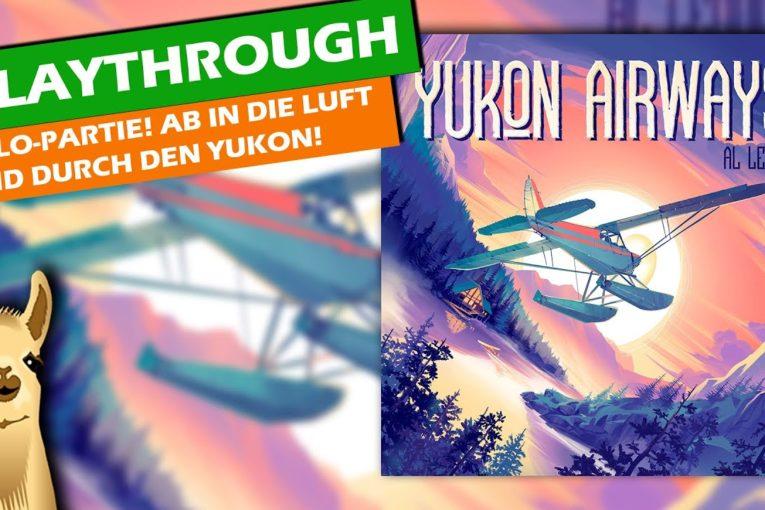 YUKON AIRWAYS - Allein durch die Lüfte