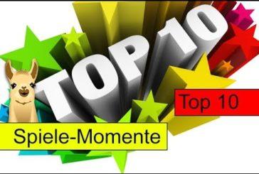 Meine schönsten und schlimmsten Spiele-Momente / Top 10 / SpieLama