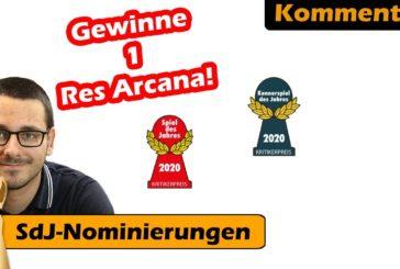 ► Nominierung Spiel des Jahres 2020 + Gewinnspiel / Kommentar / Brettspiel - Deutsch