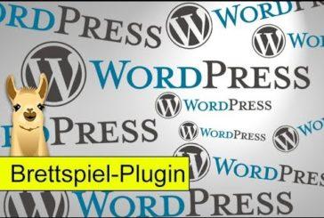 Brettspiel-Datenbank-Plugin für Wordpress / SpieLama