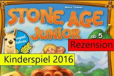 Stone Age Junior / Kinderspiel des Jahres 2016 / Anleitung & Rezension / SpieLama