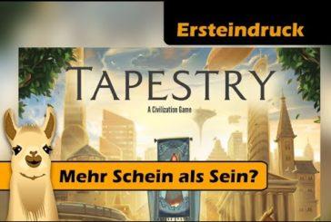 ► Tapestry Erklärung + Ersteindruck / Brettspiel - Deutsch / Reupload / SpieLama