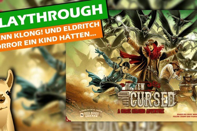 THE FEW AND CURSED - Eldritch Horror + Klong!?