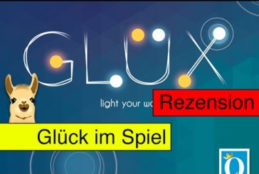 Glüx (Brettspiel) / Anleitung & Rezension / SpieLama
