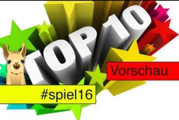 Essen-Neuheiten (Spiel 2016) / Top 10 / SpieLama