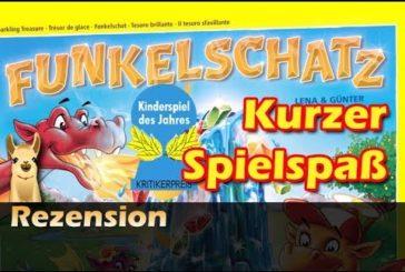 ► Funkelschatz / Kinderspiel des Jahres 2018 - Deutsch / Anleitung & Rezension / SpieLama
