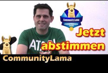 ► CommunityLama 2018 / Jetzt abstimmen / SpieLama
