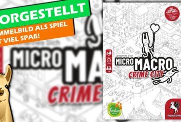 🔎 MicroMacro Crime City - Wimmelbild als Krimispiel / Rezension / Brettspiel