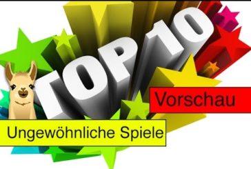 Ungewöhnliche neue Spiele (Essen-Vorschau) / Top 10 / SpieLama