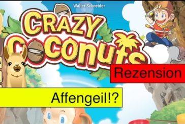 Crazy Coconuts (Spiel) / Anleitung & Rezension / SpieLama