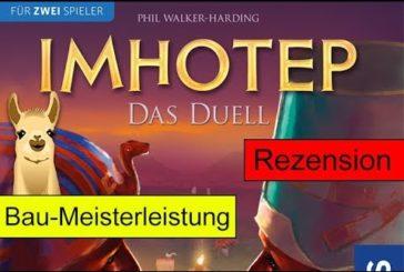 Imhotep - Das Duell / Anleitung & Rezension / SpieLama