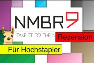 Nmbr9 (Spiel) / Anleitung & Rezension / SpieLama