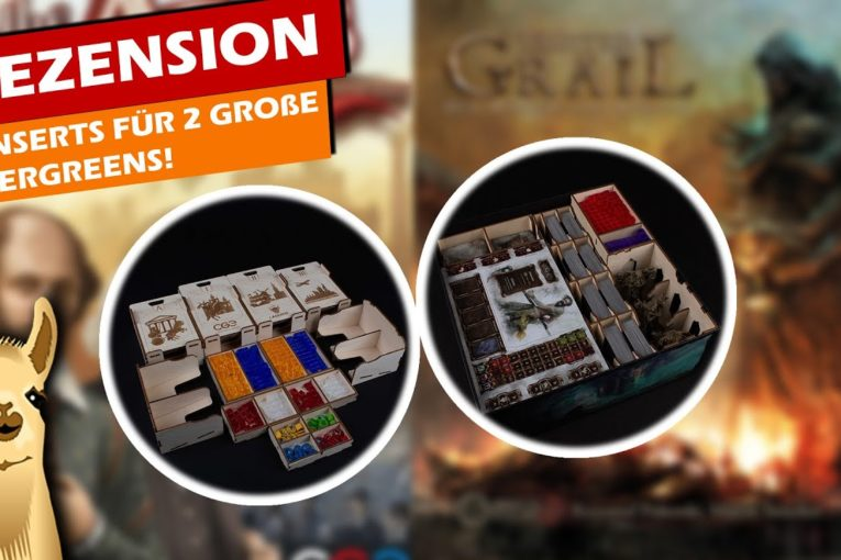 ► Tainted Grail & Through the Ages - LaserOx Inserts / Rezension / Brettspiel