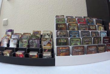 Kartenhalter aus Leichtschaumplatten (Foamcore) / Brettspielzubehör #01 / SpieLama