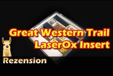 ► Great Western Trail Insert (LaserOx) / Brettspielzubehör #21 / SpieLama