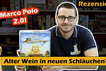 ► Marco Polo II - Im Auftrag des Khan / Rezension / Brettspiel - Deutsch /