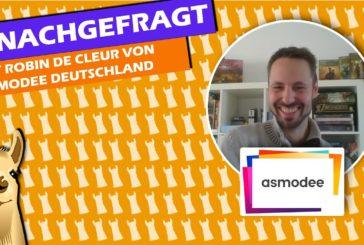 #NACHGEFRAGT: Robin de Cleur über asmodee & SPIEL.digital