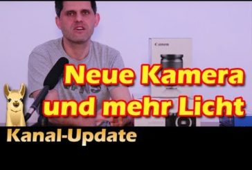 ► Kanalupdate / Neue Technik / SpieLama