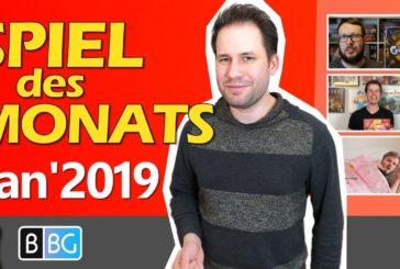 Spiel des Monats Januar 2019 / Neues Format von Better Board Games mit vielen Gästen / SpieLama