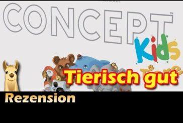► Concept Kids - Tiere / Brettspiel - Deutsch / Anleitung & Rezension / SpieLama