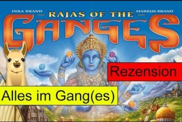 Rajas of the Ganges / Anleitung & Rezension / SpieLama
