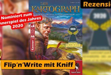 👌 Der Kartograph Rezension / nominiert zum KSdJ 2020🏆