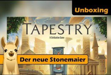 ► Tapestry / Unboxing / Der neue Spiele-Hit von Stonemaier? / SpieLama