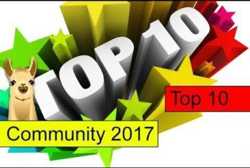 CommunityLama 2017 / Die besten Brettspiele des Jahres / Top 10 / SpieLama