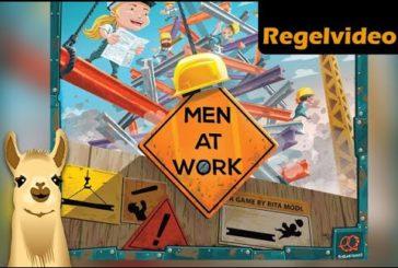► Men at Work / Brettspiel - Deutsch / Anleitung & Regeln / SpieLama