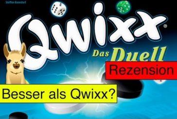 Qwixx - Das Duell (Würfelspiel) / Anleitung & Rezension / SpieLama