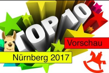 Spielwarenmesse 2017 / Familienspiele / Top 10 / SpieLama