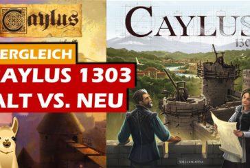 ► Caylus (Neu) vs. Caylus (Alt) / SpieLama