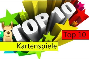 Die besten Kartenspiele / Top 10 / SpieLama