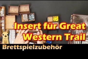 Insert für Great Western Trail (The Game Doctors) / Brettspielzubehör - Folge 21 / SpieLama