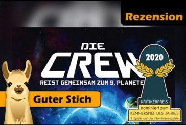 ► Die Crew / Rezension / Kennerspiel des Jahres 2020 / Kartenspiel - Deutsch /