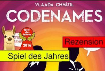 Codenames / Spiel des Jahres 2016 / Anleitung & Rezension / SpieLama