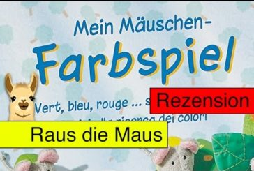 Mein Mäuschen Farbspiel (Kinderspiel) / Anleitung & Rezension / SpieLama