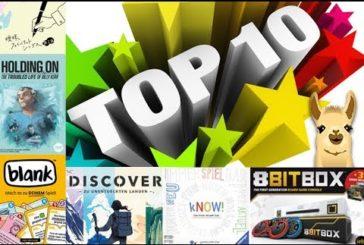 Innovative & ungewöhnliche Brettspiele / Essen-Vorschau / Top 10 / SpieLama
