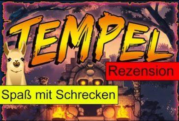 Tempel des Schreckens (Spiel) / Anleitung & Rezension / SpieLama