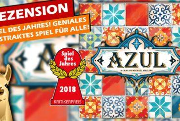 Azul / Spiel des Jahres 2018 / Anleitung & Rezension / SpieLama